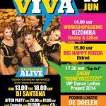 Tijdens Hilversum Alive 2014, Salsa Viva georganiseerd door Esencia