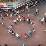 Rueda Flash mob Esencia Hilversum
