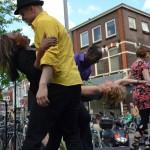 Demonstratie salsadansen Esencia dansschool Hilversum