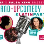 Comedy & Latin Matinee Party. 2nd edition. (GEANNULEERD WEGENS CORONACRISIS)