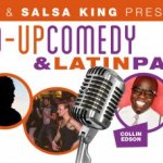 New! Stand-up Comedy & Latin party